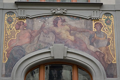 Art Nouveau architectural details