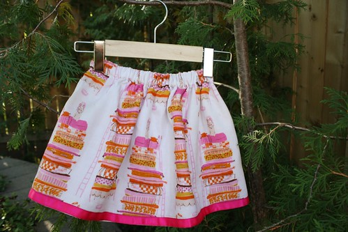 princess and pea lazy day skirt