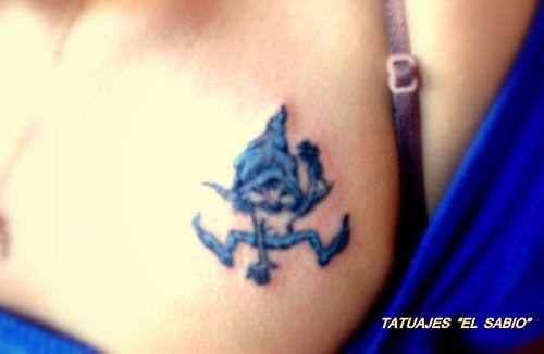 tatuajes hadas duendes. diseno tatuaje duende. Etiquetas: Magia, Tattoo de duendes., Tattoos en el
