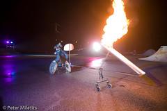 _MG_7038 (thatsmyway) Tags: art linz wheelchair performance fireperformance linz09 corneliascheuer wheelchairperformance petermiletitst