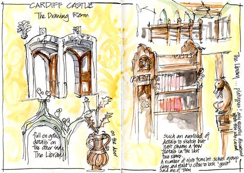 Day02_02 Cardiff Castle Interiors