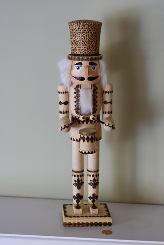 Woodburned Nutcracker
