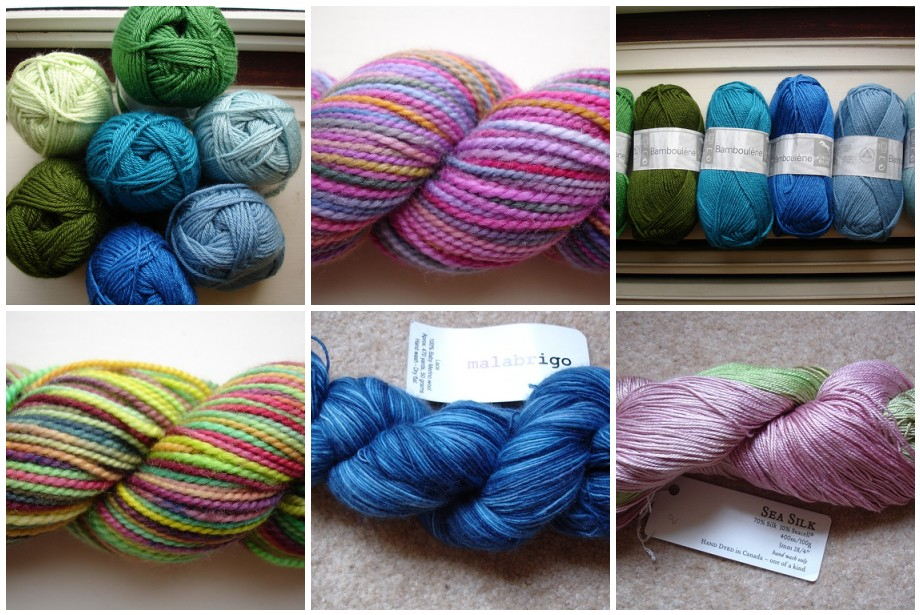 Brittany yarn purchases