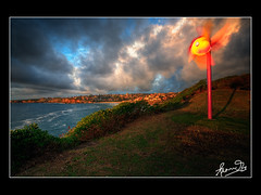 Sculptures by the Sea- Bondi 2009 (sachman75) Tags: morning beach bondi sunrise dawn coast colours artistic sydney arts australia nsw canon5d hdr sculpturesbythesea windvane sxsbondi 1740mmf4