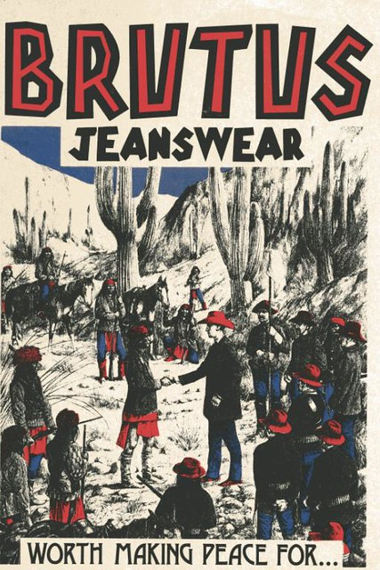 Brutus Jeans Advertising