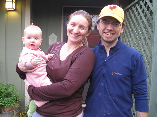 Isadora, Missy and Shane in Eugene