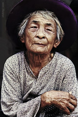 Hoary age (-clicking-) Tags: old portrait mother vietnam older aged wrinkled supershot anawesomeshot colorphotoaward shutterbox 100commentgroup artofimages bestportraitsaoi theoriginalgoldseal elitegalleryaoi