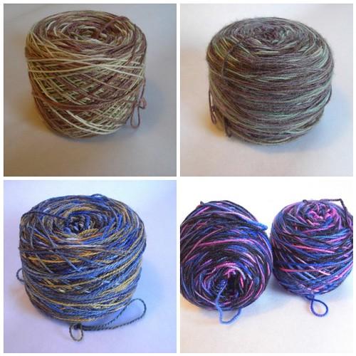MCW Sock Yarn Choices For Jody