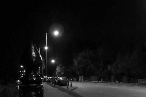 Trumpington Street on a Thursday evening