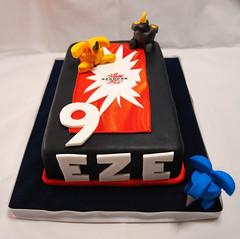 Carta Bakugan (Mariana Pugliese) Tags: blanco cake azul gris rojo dragon negro 9 amarillo card feliz juego eze cumpleaños naranja torta carta bakugan 241543903 marianapugliese