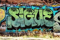 SIGUE Graffiti - Santa Ana, California (EndlessCanvas.com) Tags: streetart mexico fun graffiti downtown ewok leslie fade santana orangecounty piece oc bree sigue sef beur fungraffiti throwie fuser funcrew skiste siguegraffiti