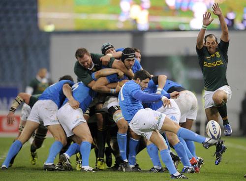 Tebaldi contro il Sudafrica