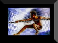 encadenado a flickr ᴥ chained to flickr (by jesuscm)