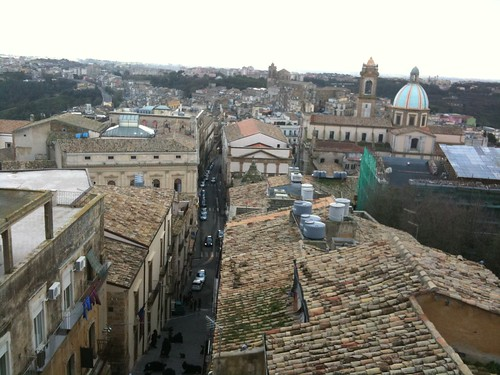 Caltagirone rooftops
