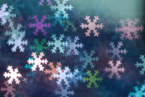 snowflake bokeh texture3