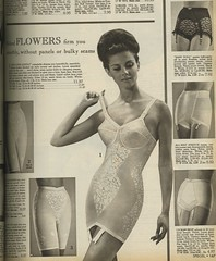 1966 corselette or shaper (genibee) Tags: woman underwear spiegel 1966 catalog 1960s hairstyle girdle shaper slimmer pantygirdle corselette