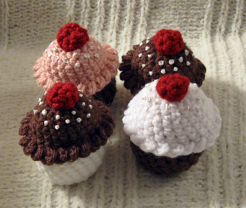 Crocheted Cupcakes