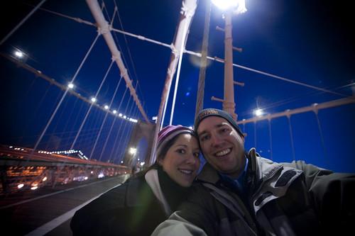 Brooklyn Bridge Familiy Shot