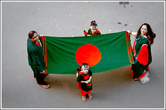 Amar Bangladesh-V (Catch the dream) Tags: family red green smile children 1971 colorful child top joy daughter happiness husband victory wife dhaka stretched bangladesh enthusiasm tsc bangladeshi 16december universityofdhaka victorydayofbangladesh familygetty2010 gettyimagesbangladeshq2