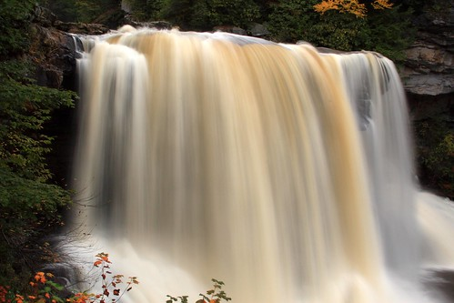 Long exposure, Blackwater Falls State Park, West Virginia