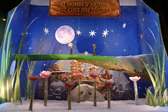 Vitrines de Noël BNP Paribas - Paris décembre 2009