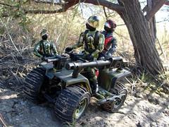 A ride back to safety. (cradea2) Tags: trooper cobra joe jungle custom viper gi strato