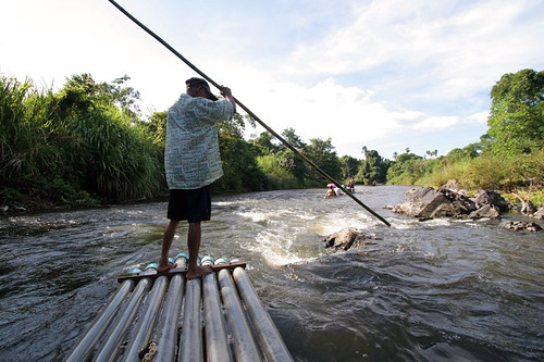 Bamboo Rafting at Phato