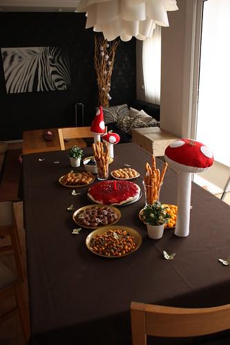 La mesa del cumple