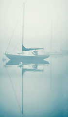 'neath the shroud of the foggy dew (pixelmama) Tags: fog sailboat lakeshoredrive foggydew gettyimages chicagoillinois bikethedrive 2011 belmontharbor butilikethatline neaththeshroudofthefoggydew sineadoconnorthechieftans therestofthesongdoesntreallyapply