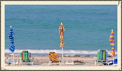 Waiting (natural wonders photography) Tags: tourism gulfofmexico florida longboatkey anniversaryweekend seahorsebeachresort hotdayatthebeach picturepostcardday colourfulbeachchairsandumbrellas dailynaturetnc13