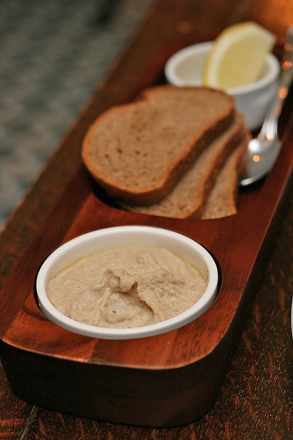Potted Smoked Mackerel, Rye Toast