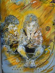 Nina (HBA_JIJO) Tags: portrait urban streetart art graffiti stencil artist artiste pochoir vitry vitrysurseine c215 christiangumy artistegraffeur hbajijo