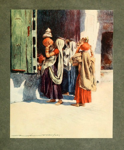 012- Transporte de agua en Nutha-The people of India 1910