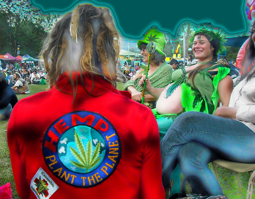 HEMP -  Plant the Planet by nimbin mardi grass 2009.