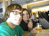 Cheers to an awesome flight