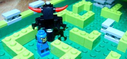 LEGO Minotaurus