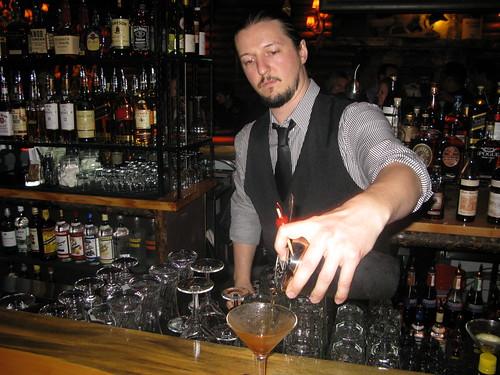 Ian the bartender