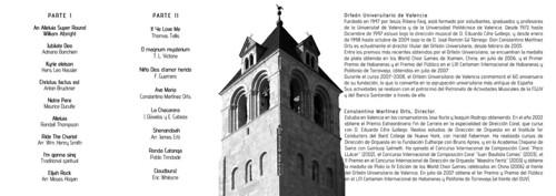 ORFEÓN UNIVERSITARIO DE VALENCIA - COLEGIATA DE SAN ISIDORO, LEÓN - 20.07.09