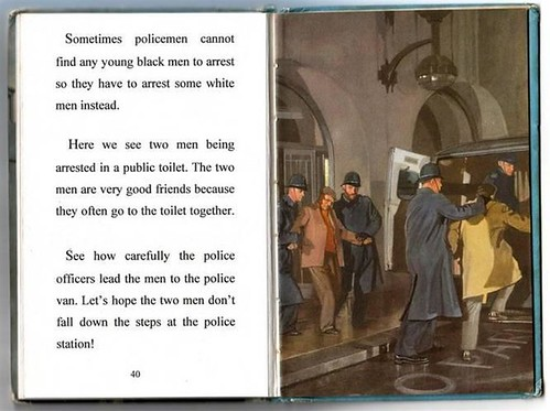 Funny Ladybird Books police_14