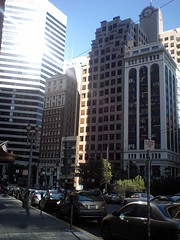 Buildings in Financial District