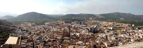 Panorámica de Sagunto (Valencia)