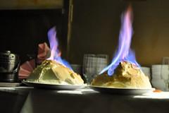 Fiery dessert