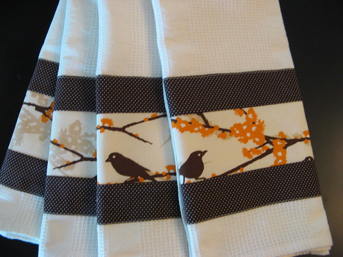 Bird Dishtowels