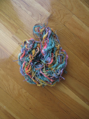 Coils Yarn before soak