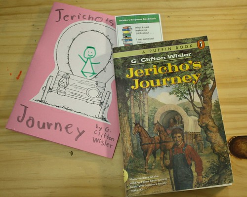jericho's journey reading journal