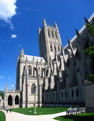 2009 05 10 - 5914-5916 - Washington DC - National Cathedral (thisisbossi) Tags: autostitch usa washingtondc us unitedstates churches cathedrals panoramas christianity protestant nationalcathedral episcopalian panoramics woodleypark cathedralchurchofsaintpeterandsaintpaul