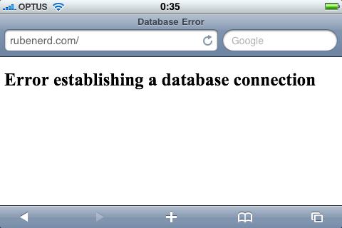 SegPub problems: database