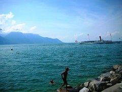Montreux by Lake Geneva in Switzerland #9