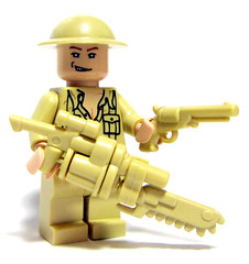 Brickarms: Tan (Sir Nadroj) Tags: brick colors arms fair chrome will badger rare 2009 prototypes chapman brickarms brickfair