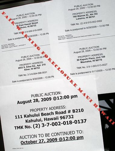 Fair Waring Foreclosures on Maui Hawaii